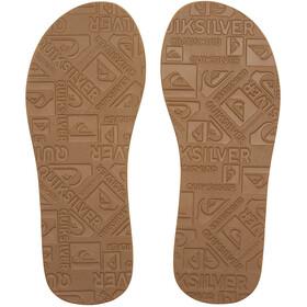 Quiksilver Carver Suede Sandals Herren solid tan